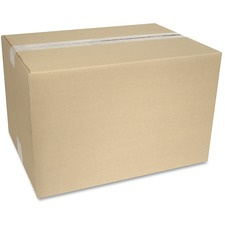 """Crownhill Corrugated Shipping Box - External Dimensions: 12"""" Width x 10"""" Depth x 15"""" Height - 200 lb - Brown - Recycled - 1 Each"""