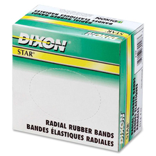 Dixon Star Radial Rubber Band - Size: #18 - 0.25 lb/in - 1 / Box - Rubber