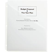 """Smead Pocket Folder - Letter - 8 1/2"""" x 11"""" Sheet Size - 3/4"""" Expansion - 2 Pocket(s) - Poly - Clear - 3 / Pack"""