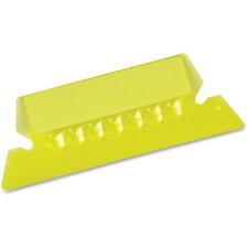 Pendaflex Hanging File Folder Tab - Blank Tab(s) - Yellow Plastic Tab(s) - 25 / Pack
