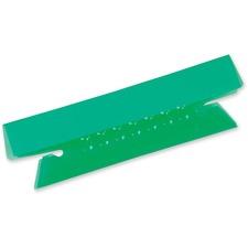 Pendaflex Hanging File Folder Tab - Blank Tab(s) - Bright Green Plastic Tab(s) - 25 / Pack