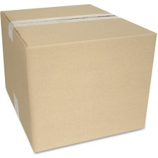 "Crownhill Corrugated Shipping Box - External Dimensions: 9"" Width x 9"" Depth x 11"" Height - 200 lb - Brown - Recycled - 1 Each"