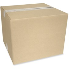 """Crownhill Corrugated Shipping Box - External Dimensions: 14"""" Width x 10"""" Depth x 14"""" Height - 200 lb - Brown - Recycled - 1 Each"""