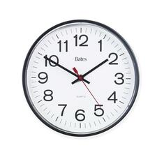 GBC 9847014 Quartz Wall Clock - Quartz - Black