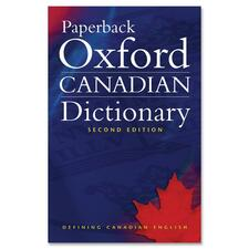 Oxford University Press Paperback Oxford Canadian Dictionary Second Edition Printed Book by Katherine Barber - March 2006 - English