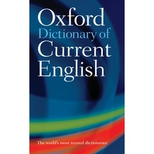 Oxford University Press Dictionary Of Current English 4th Edition Printed Book by Soanes - English