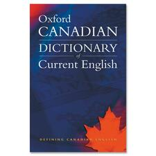 Oxford University Press Canadian Oxford Dictionary of Current English Printed Book by Katherine Barber, Tom Howell, Robert Pontisso - English