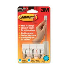 3M Command Adhesive Utensil Hook - 3 Hooks - 226.8 g Capacity - for Multipurpose - 1 Pack