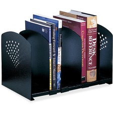 SAF 3116BL Safco Five-Section Adjustable Book Rack SAF3116BL