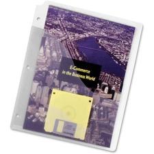 """Pendaflex 31822C Wave Pocket - For Letter 8 1/2"""" x 11"""" Sheet - Ring Binder - Rectangular - Assorted - Polypropylene - 5 / Pack"""