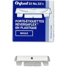 Pendaflex Hard Moulded Tab - Clear Tab(s) - 25 / Box