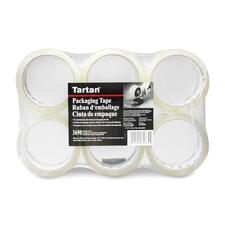 "Tartan General Purpose Sealing Tape - 1.89"" (48 mm) Width x 54.7 yd (50 m) Length - 6 / Pack - Clear"