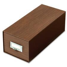 Pendaflex Index Card Box With Follower Block - Heavy Duty - Green - For Card - 1 Each