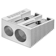 Staedtler Double-Hole Pencil Sharpener - 2 Hole(s) - Metal