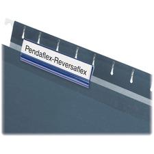"Pendaflex Hanging File Folder Hard Tab - Blank Tab(s)3.50"" Tab Width - Clear Tab(s) - 25 / Box"