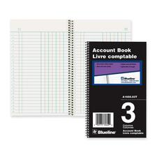 Blueline A165003T Accounting Book