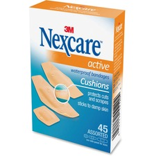 3M Nexcare Flexible Foam Bandage - 45/Box - Tan