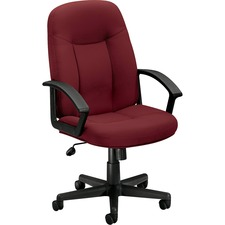 BSX VL601VA62 Basyx VL601 Executive High-back Swivel Chairs BSXVL601VA62