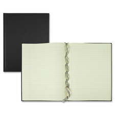 "Winnable Executive Journal with Bookmark - 152 Sheets - Sewn - 11"" x 8 1/2"" - Cream Paper - Textured - Ribbon Marker - 1Each"