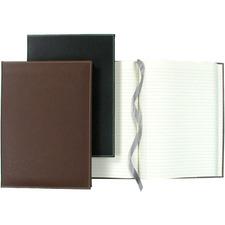 "Winnable Executive Journal Notebook - 320 Sheets - Sewn - 9 3/4"" x 7"" - Brown Paper - Textured"