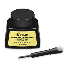 Pilot 088292 Marker Refill Ink Bottle - Black 29.57 mL Ink - 1 Each