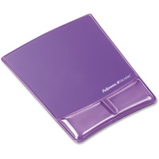 FEL 9183501 Fellowes Microban Mouse Pad/Wrist Support FEL9183501