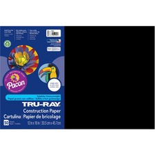 PAC 103061 Pacon Tru-Ray Heavyweight Construction Paper PAC103061