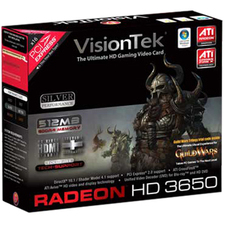 VisionTek Radeon HD 3650 512 MB Video Card