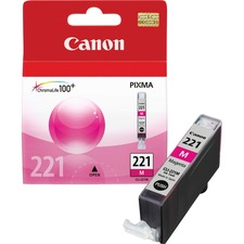Canon CLI-221M Original Ink Cartridge - Inkjet - 510 Pages - Magenta - 1 Each