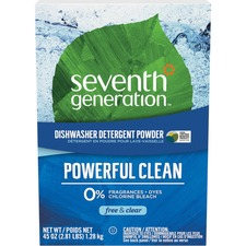 SEV 22150 Seventh Gen. Natural Dishwasher Detergent SEV22150