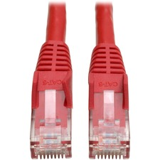 Tripp Lite 2 ft CAT 6 Patch Cable - Red