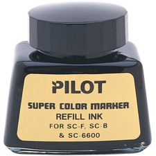 Pilot Red Refill Ink Bottle For Permanent Jumbo Markers - Red
