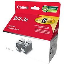 Canon BCI-3E Black Ink Twin Pack