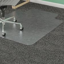 LLR25757 - Lorell PlushMat Standard Lip Chairmat