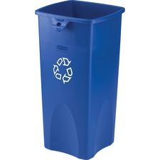 RCP 356973BE Rubbermaid Square Recycling Container RCP356973BE