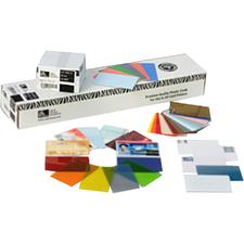 Zebra Premier Blank PVC Card