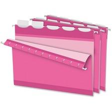 PFX 90240 Pendaflex Ready-Tab Reinforced Pink Hanging Folder PFX90240