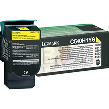 LEXC540H1YG - Lexmark Original Toner Cartridge