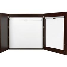 BVC CAB01010143 Bi-silque 2-door Ebony Conference Cabinet BVCCAB01010143