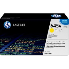 HP 645A (C9732A) Original Toner Cartridge - Single Pack - Laser - 12000 Pages - Yellow - 1 Each