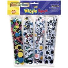 CKC 3435 Chenille Kraft Wiggle Eyes Assortment CKC3435