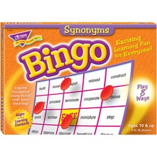 TEP 6131 Trend Synonyms Bingo Game TEP6131