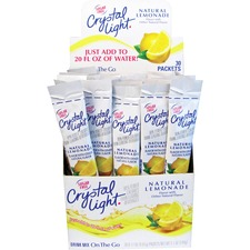 KRF 79660 Kraft Crystal Light On-The-Go Mix Lmnade Sticks KRF79660