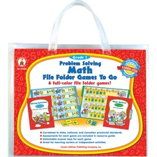 CDP 140005 Carson Problem-solving Math Games CDP140005