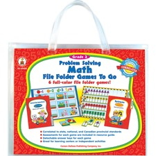 CDP 140032 Carson Problem-solving Math Games CDP140032
