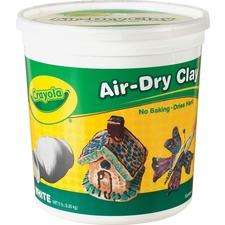 CYO 575055 Crayola White Air-Dry Clay CYO575055