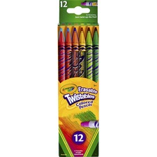 CYO 687508 Crayola Erasable Twistables Colored Pencils CYO687508