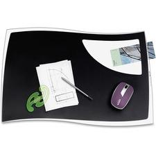 CEP 7000109 CEP Isis Solid Black Design Desk Mat CEP7000109