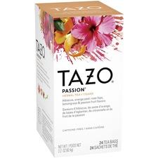 Tazo Passion Tea - Herbal Tea - Passion Fruit - 24 Teabag - 24 / Box