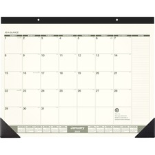 AAGSK32G00 - At-A-Glance Recycled Green Living Desk Pad